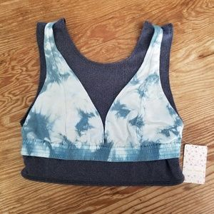 Free People Oasis Sport Bra Crop Top Size Medium